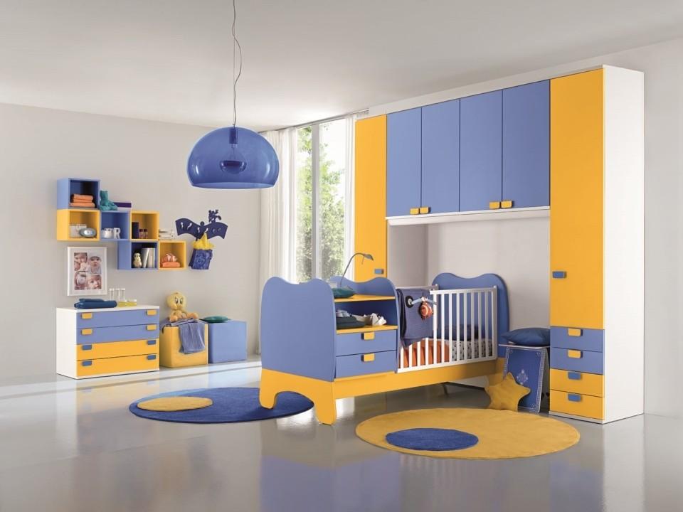 Camerette baby moderno san gaetano arredamenti - Colombini mobili camerette ...