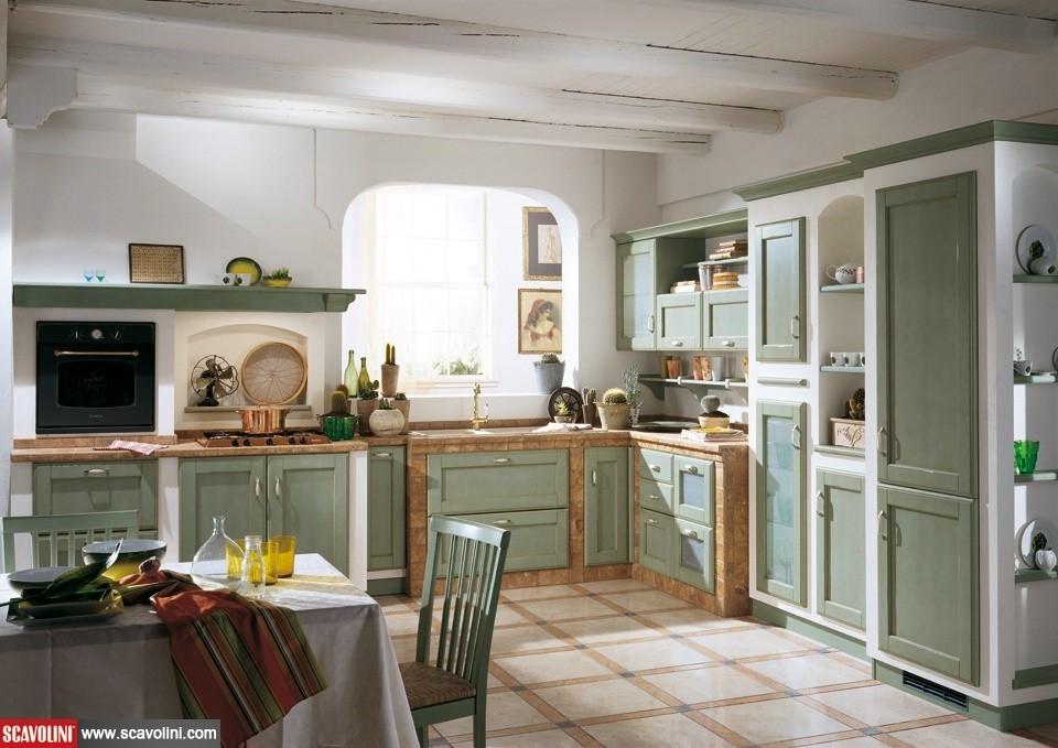 Cucina scavolini cora san gaetano arredamenti for Esempi di cucine in muratura