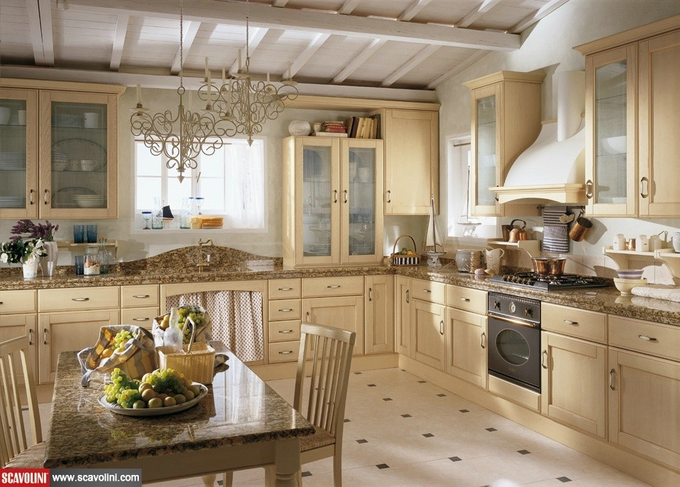 Cucina scavolini cora san gaetano arredamenti - Cucine classiche scavolini ...