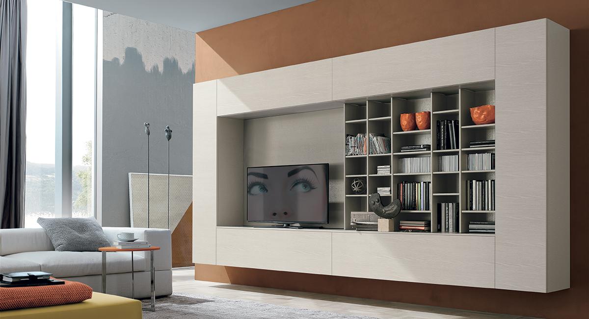 soggiorni tomasella - san gaetano arredamenti - Mobili Moderni Per Zona Giorno