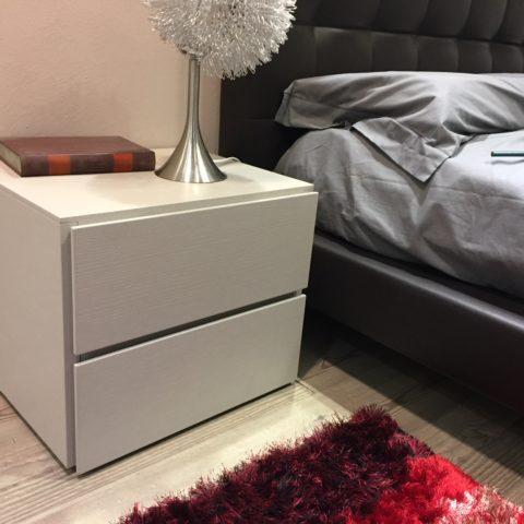 Offerta camera da letto doimo design impiallacciata rovere for Letto design offerta