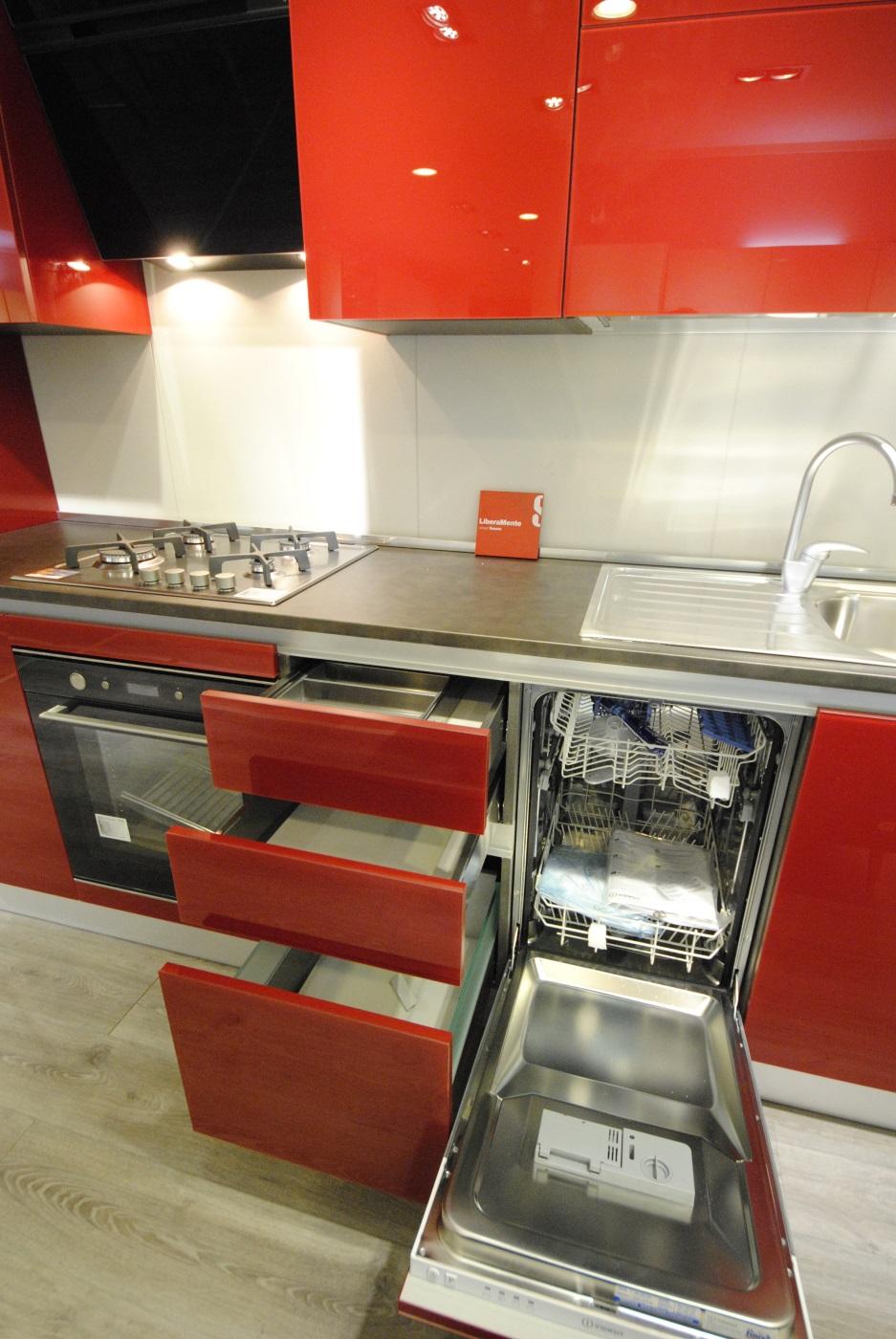 Offerta Cucina Scavolini modello Liberamente Vetro - San Gaetano ...