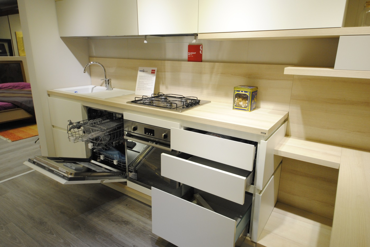 Offerta Cucina Scavolini modello Foodshelf Inside - San Gaetano ...