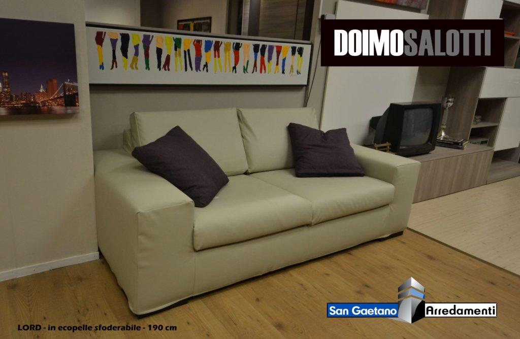 Offerta divano doimo salotti modello lord san gaetano - Costo rivestimento divano ...