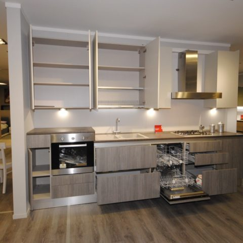 Offerta cucina Scavolini Basic modello Evolution decorativo ...