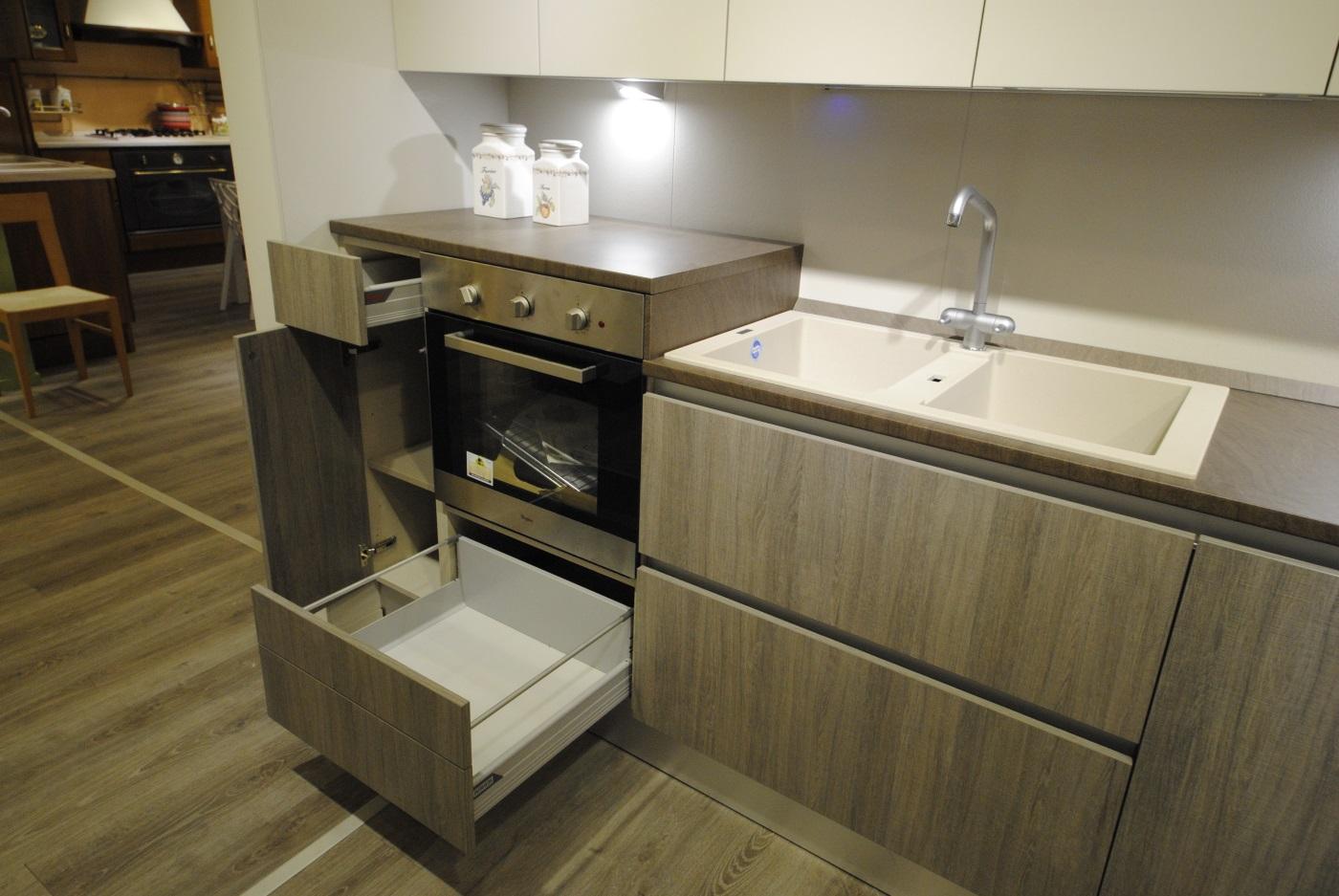 Offerta cucina Scavolini Basic modello Evolution decorativo e ...