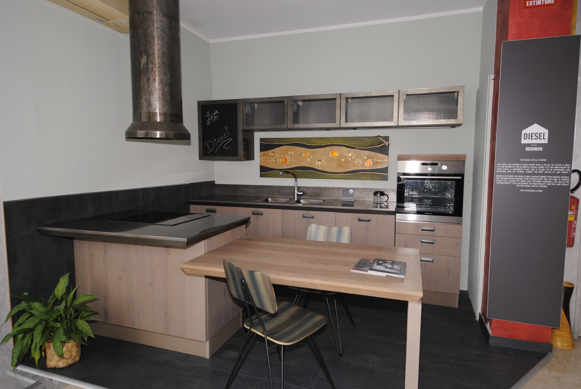 Offerta Cucina Scavolini modello Diesel Social Kitchen - San ...