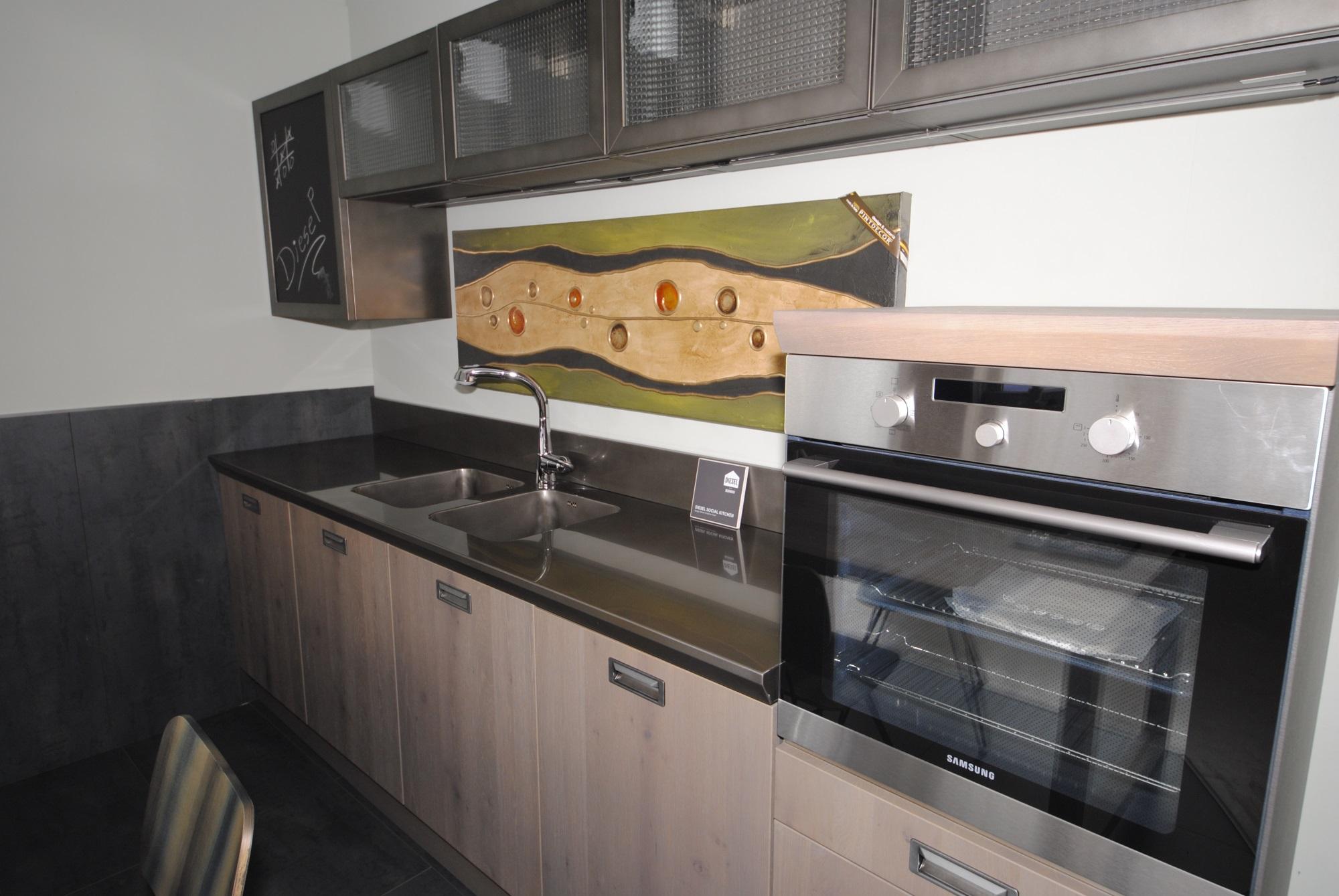 Offerta cucina scavolini modello diesel social kitchen san gaetano arredamenti - Costo cucina scavolini ...