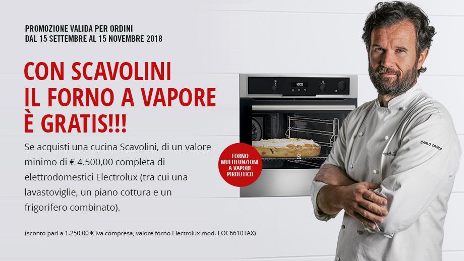 promo forno electrolux scavolini